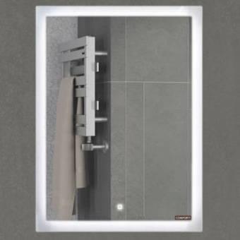 Зеркало Comforty Гиацинт 60 LED-подсветка, сенсор 600х800