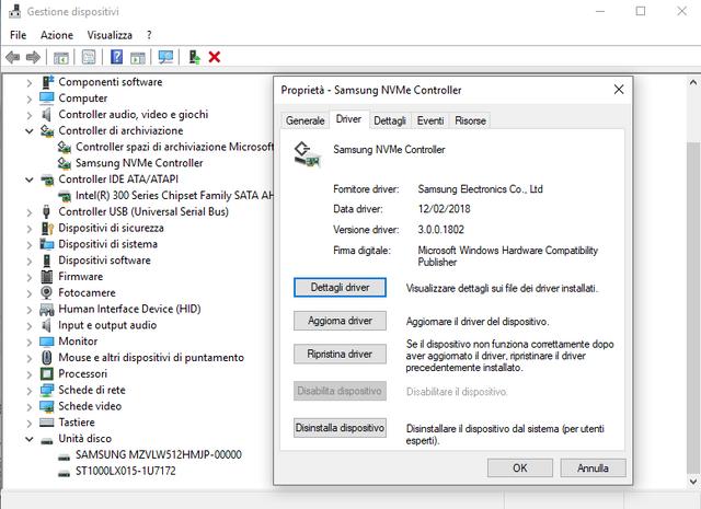 GL703GS Samsung PM961 m 2 BSOD
