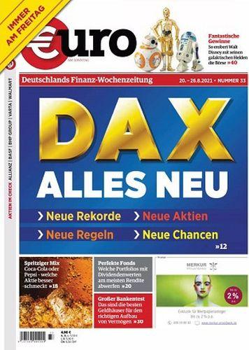 Cover: Euro am Sonntag Finanzmagazin No 33 vom 20  August 2021