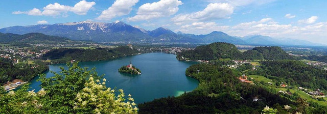 Panorama bled 2