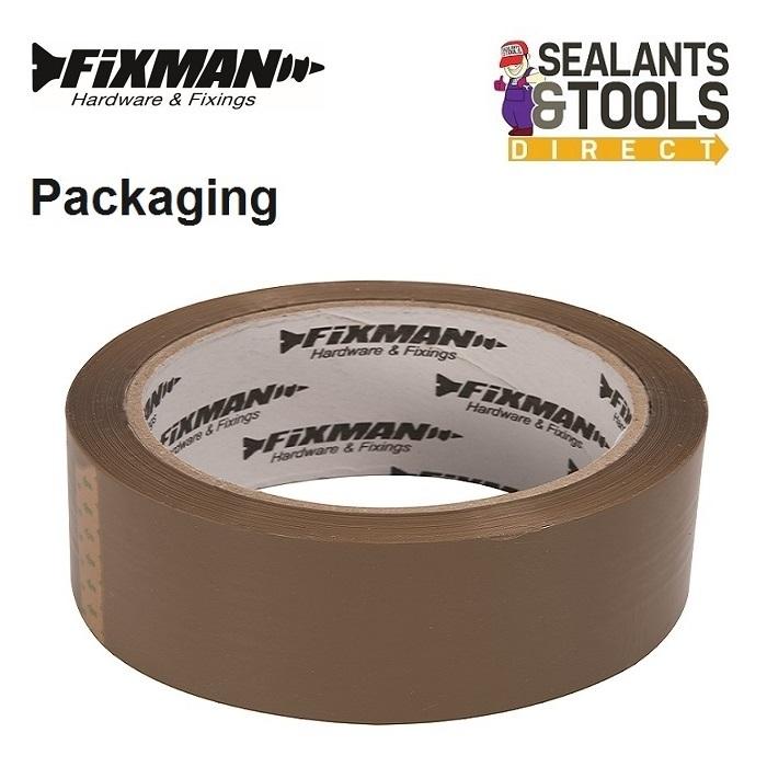 Fixman-Packing-Packaging-Tape-Brown-190368