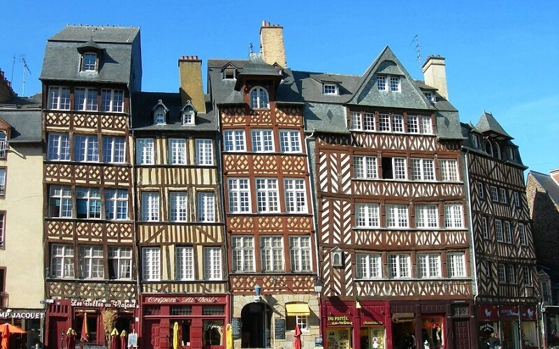 Rennes city photo