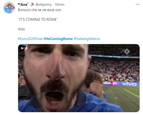 Italia-Inghilterra adesso sì che è finita: It's Coming to Roma... Frasi e Vignette Divertenti