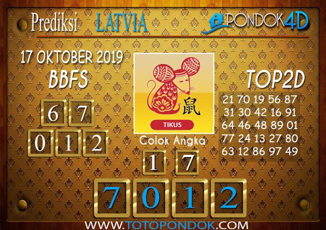Prediksi Togel LATVIA POOLS PONDOK4D 17 OKTOBER 2019
