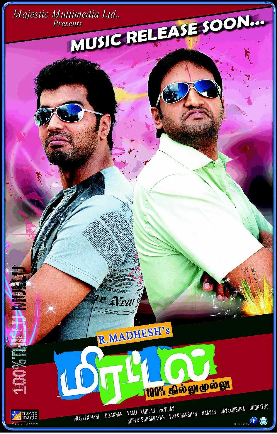 Mirattal (2021) Hindi Dubbed Movie HDRip 720p AAC