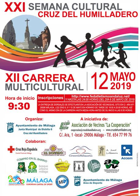 XII Carrera Multicultural Cruz del Humilladero 2019