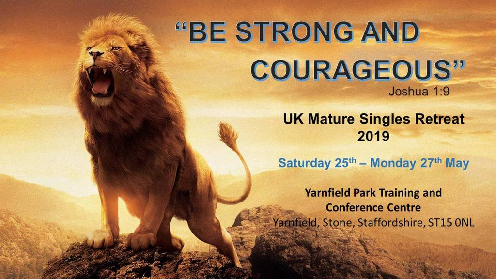 Mature Singles Retreat 2019