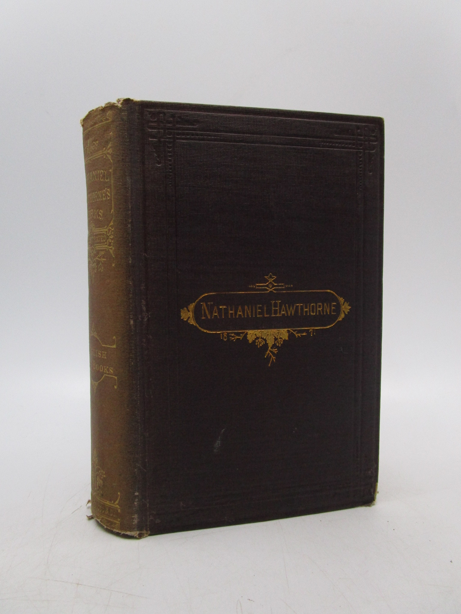 Image for Passages from the English Note-books of Nathaniel Hawthorne (2 volumes in 1)