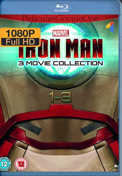 TRILOGÍA Iron Man (2008-2013) [1080p HD BRrip] [Latino-Inglés] [GoogleDrive] – Wolf Levine