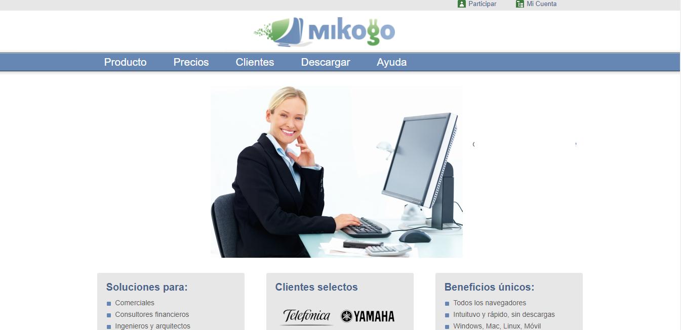 Entre las herramientas similares a TeamViewer tenemos Mikogo