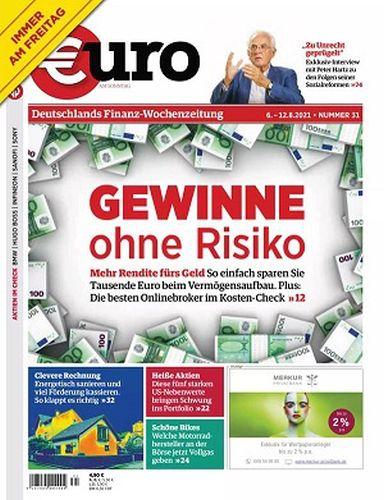 Cover: Euro am Sonntag Finanzmagazin No 31 vom 06  August 2021