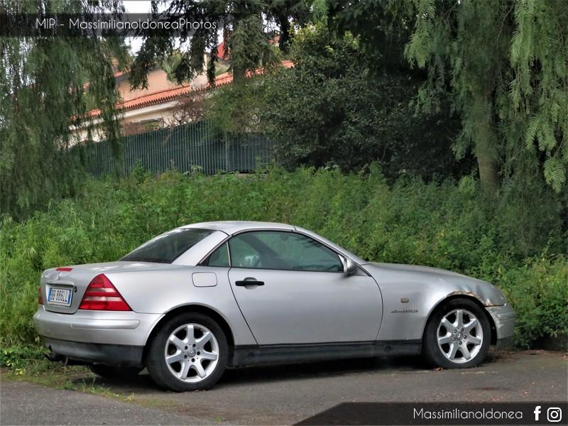 Auto Abbandonate - Pagina 11 Mercedes-R170-SLK-200-Kompressor-2-0-192cv-99-BB886-LL