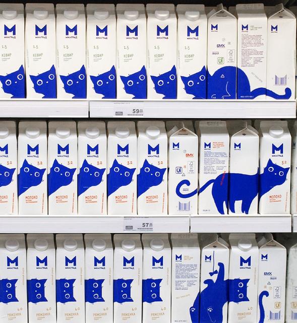 貓牛奶包裝 Image