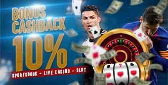 PROMO CASHBACK 10%