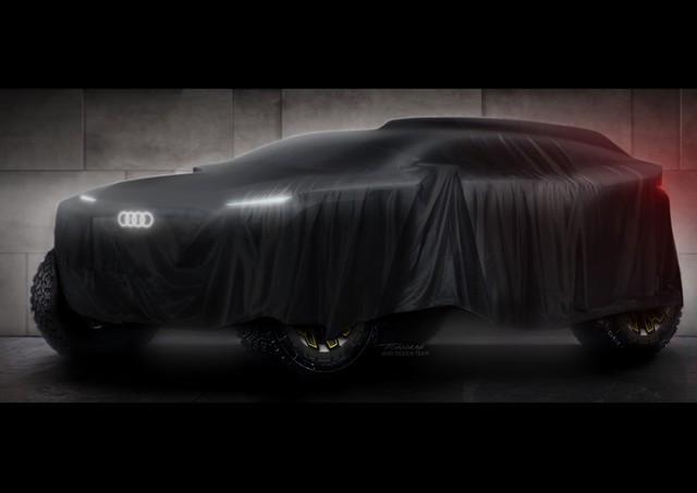 En route pour le Dakar : Audi électrifie le désert A208808medium