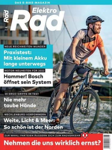 Cover: ElektroRad Das E-bike Magazin No 06 2021
