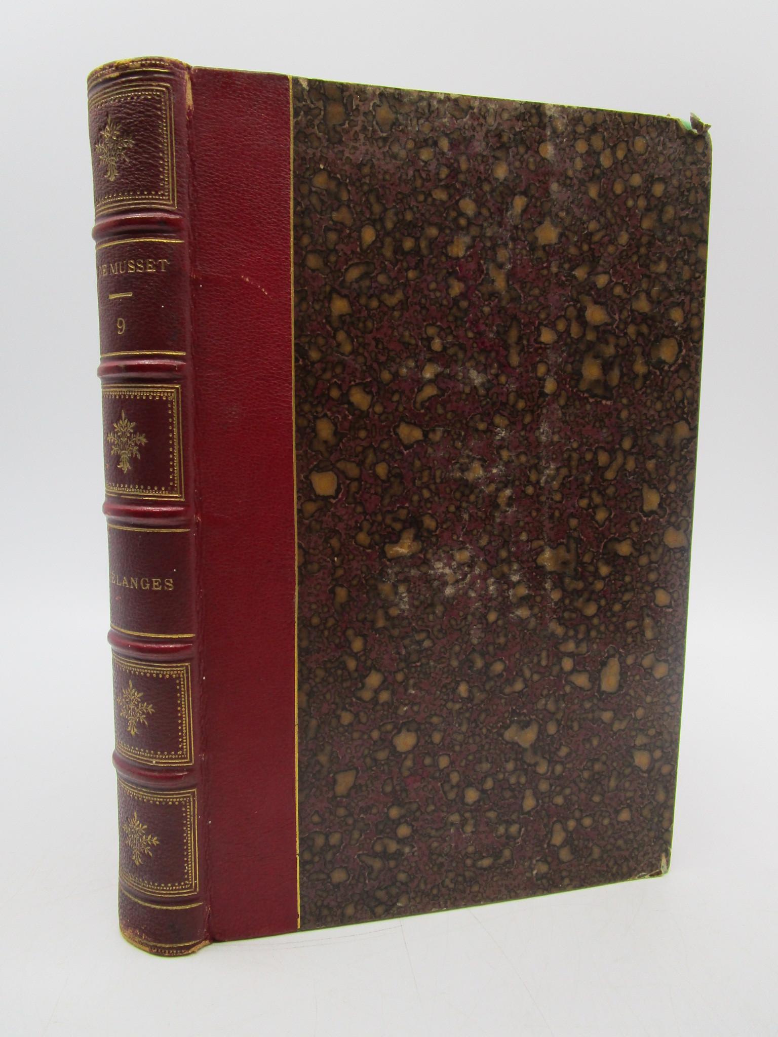Image for Oeuvres Completes de Alfred de Musset, Tome Neuvieme: Melanges de Litterature et de Critique (Volume 9 of 9)