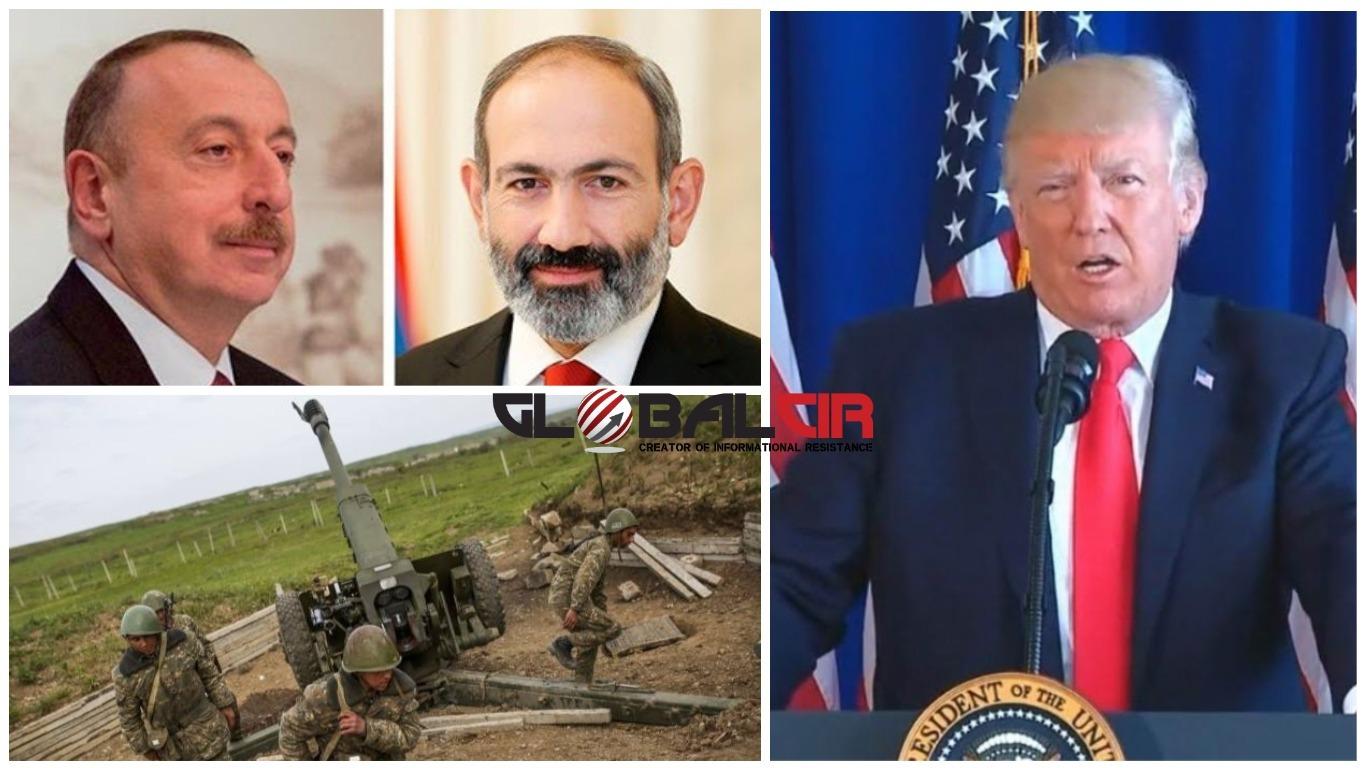 TRAMP ČESTITAO LIDERIMA ARMENIJE I AZERBEJDŽANA! U ponedjeljak stupa na snagu primirje u Nagorno Karabahu postignuto uz posredništvo Washingtona!
