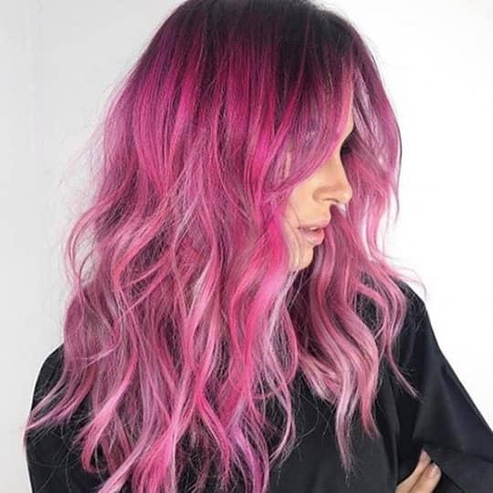 magenta -hair-color