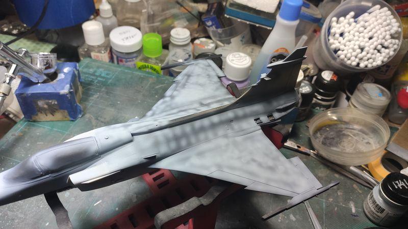 """MT: Jas-39C Gripen """"Wild Tiger"""" NTM 2017 Kitty Hawk 1/48 IMG-20200103-234625"""
