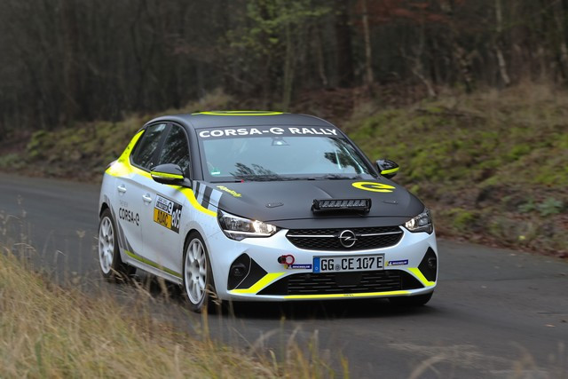 Le calendrier de l'ADAC Opel e-Rally Cup est fixé Opel-Corsa-e-Rally-513858