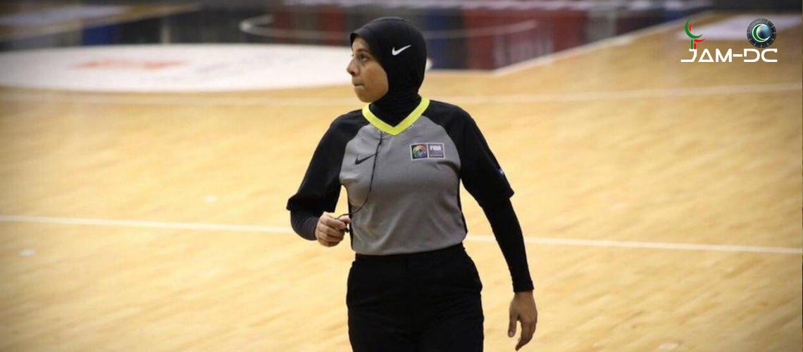 Рефери в хиджабе вошла в историю Олимпиады