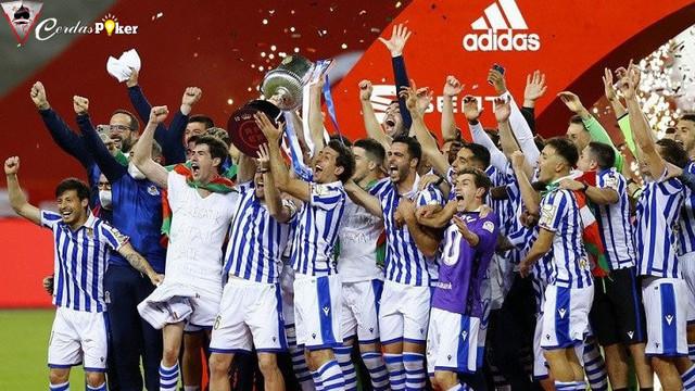 Menang Tipis, Real Sociedad Juarai Copa del Rey 2019/2020