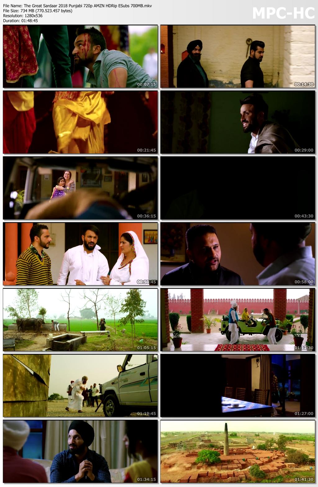 The-Great-Sardaar-2018-Punjabi-720p-AMZN-HDRip-ESubs-700-MB-mkv-thumbs