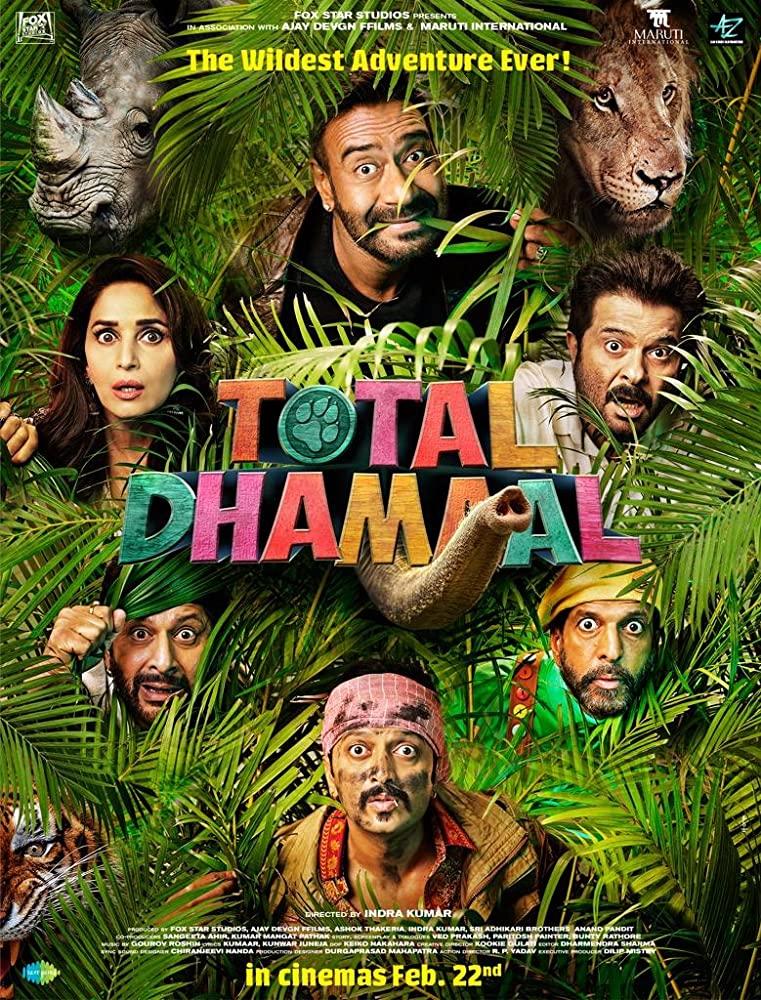 Total Dhamaal 2019 Hindi Movie 400MB HDRip ESubs Download