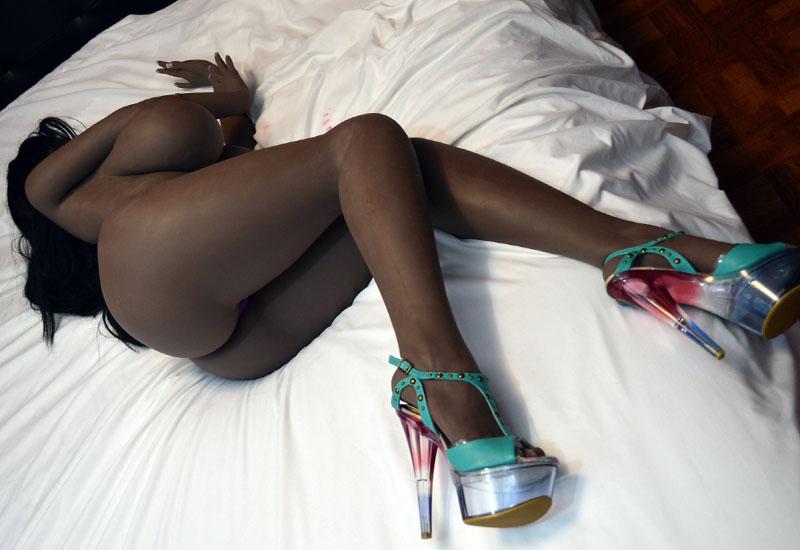 black sex doll