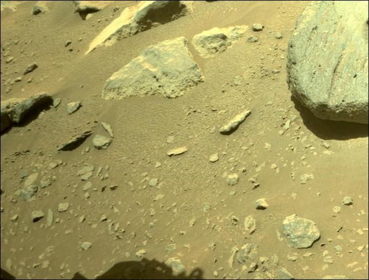 Perseverance toma muestras de Marte