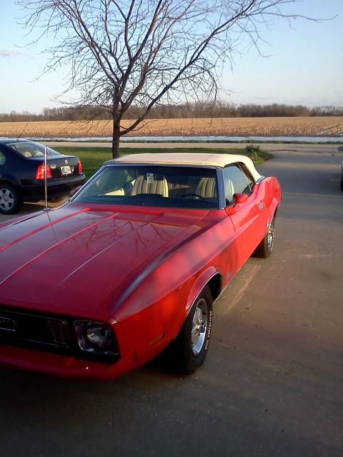 Mustang-top-up