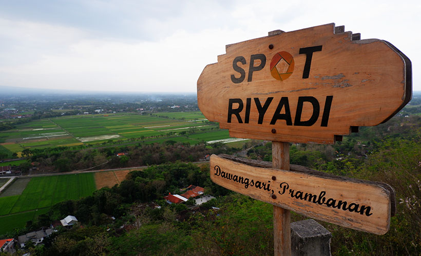 Menikmati Indahnya Sunset Dari Ketinggian Di Spot Riyadi Yogyakarta Brisik