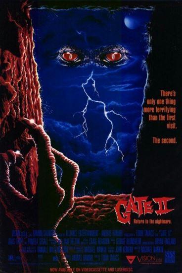 Wrota 2 / The Gate II: Trespassers (1990) PL.BRRip.XviD-GR4PE   Lektor PL