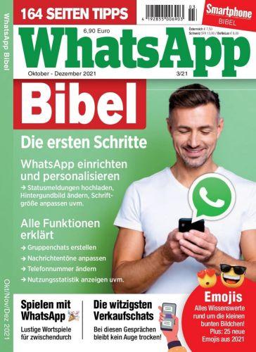 Cover: WhatsApp Bibel Magazin Oktober-Dezember No 03 2021