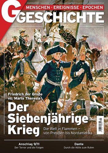 Cover: G Geschichte Magazin Menschen Ereignisse Epochen No 09 2021