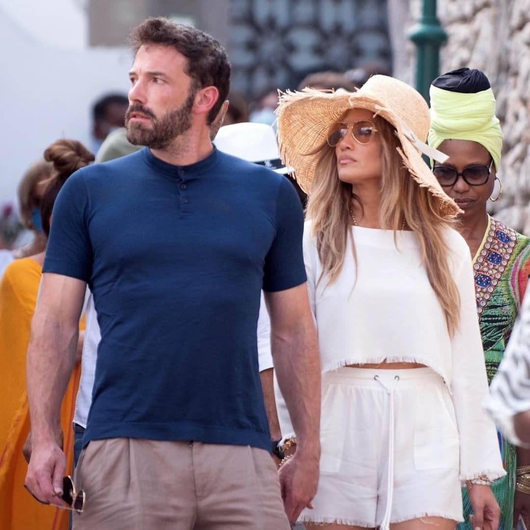 Jennifer Lopez e Ben Affleck, innamorati a Capri