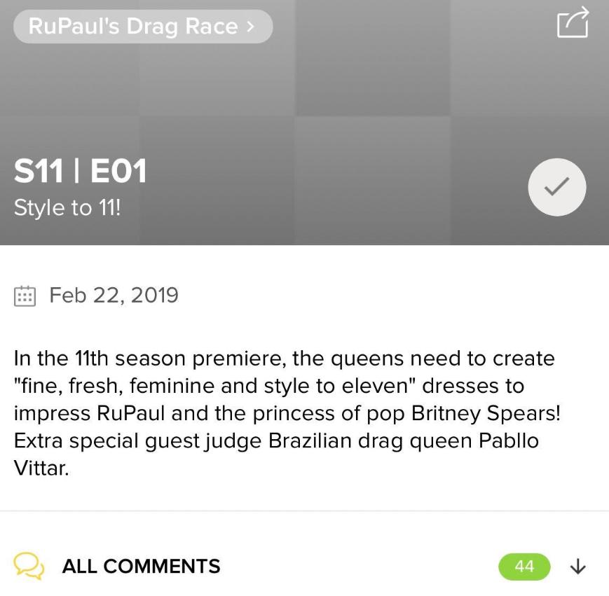 RuPaulDragRace 11ème saison - apparition Rupaul
