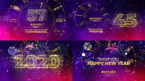 New Year Countdown 2020 25241254 - Project for After Effects (Videohive)