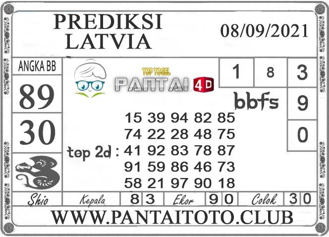 PREDIKSI TOGEL LATVIA PANTAI4D 08 SEPTEMBER 2021