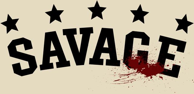 My hand drawn savage logo art