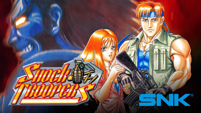 今日起,8款SNK人氣遊戲 在Prime Gaming免費上線! Image-SHOCKTROOPERS