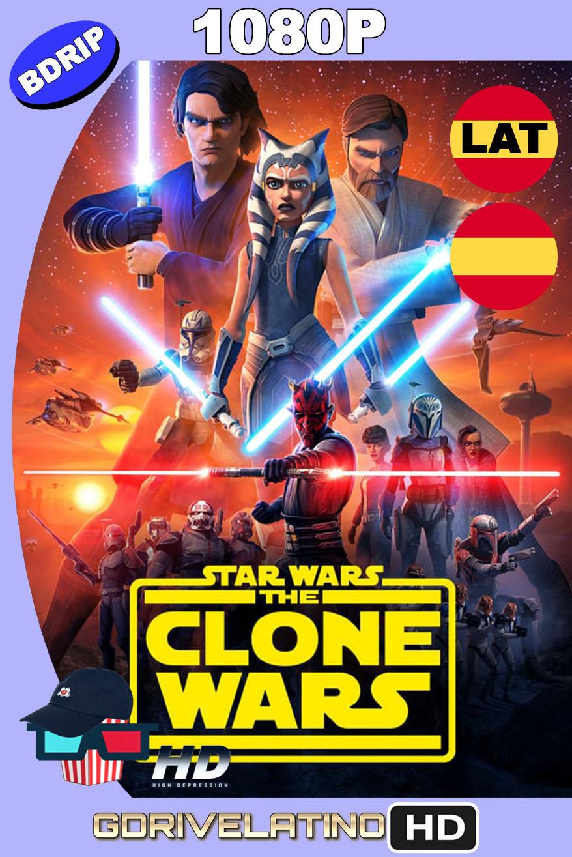 Star Wars: The Clone Wars (2008-2020) Temporada 06 [13/13] BDRip 1080p Latino-Castellano-Inglés MKV