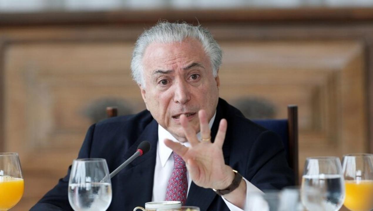 Un tribunal federal de Brasil ordenó que vuelva a prisión el ex presidente Michel Temer, acusado de corrupción