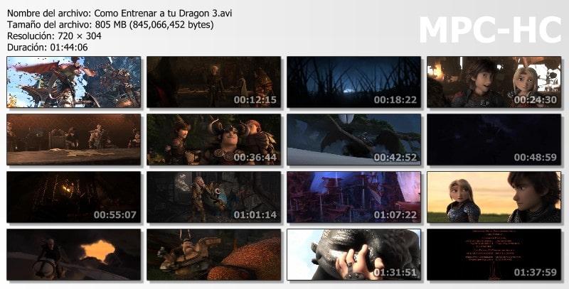 Cómo Entrenar a tu Dragón 3 Capturas