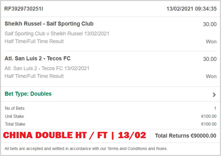 BET365 PROOF FOR FIXED MATCHES