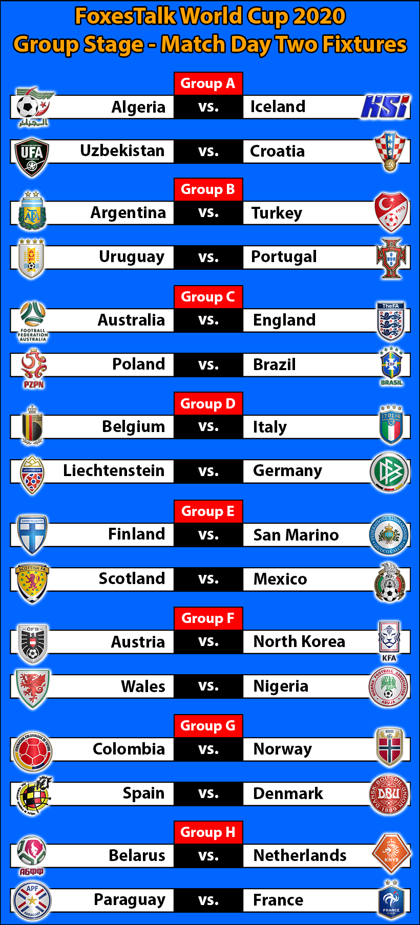 FTWC-Group-Stage-Match-Day-Two-Fixtures.