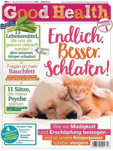 Cover: Good Health Gesundheitsmagazin No 07 September-Oktober 2021