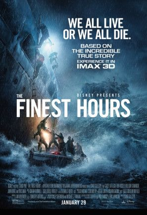 The Finest Hours (2016) Dual Audio Movie 720p