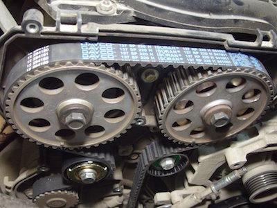 Замена ремня двигателя